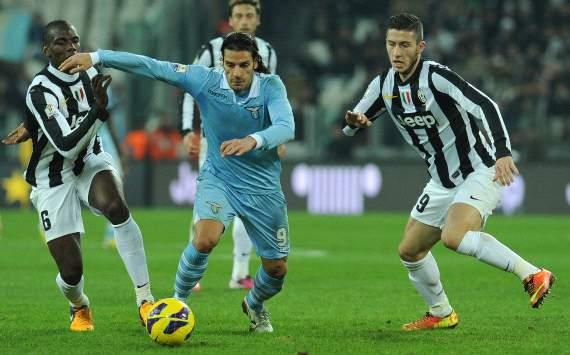 Paul Pogba, Sergio Floccari, Luca Marrone - Juventus-Lazio