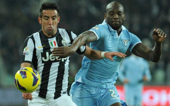 Mauricio Isla, Michael Ciani - Juventus-Lazio