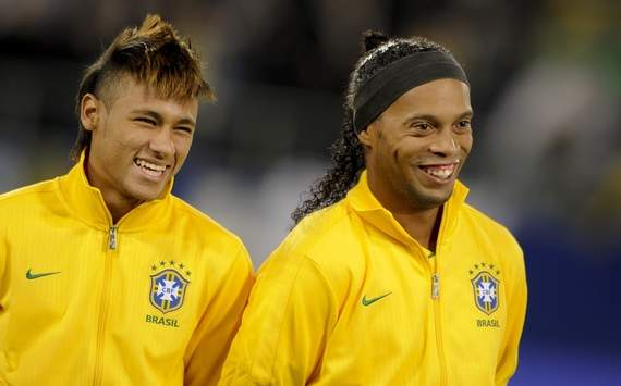 Ronaldinho tips Neymar to become world's best