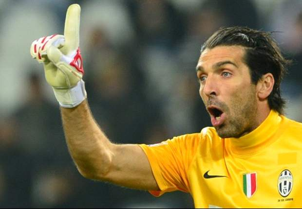 Buffon welcomes rivals' challenge as title race in Italy hots up
