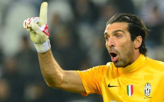 Buffon plays down importance of Celtic crowd