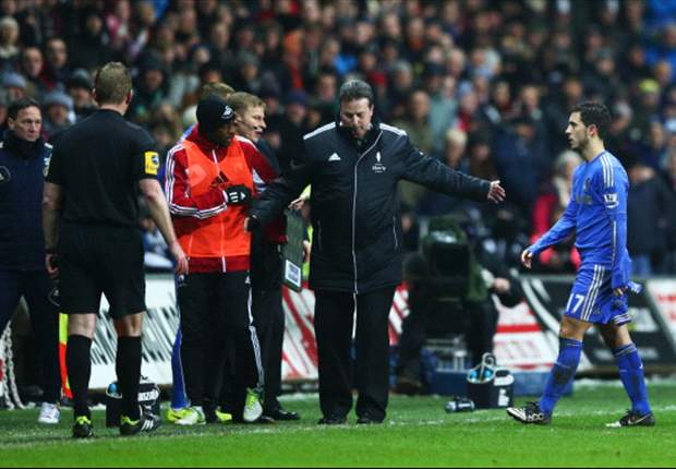 What punishment should Hazard receive for kicking ball boy?