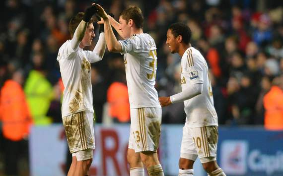 Swansea play out draw to reach cup final