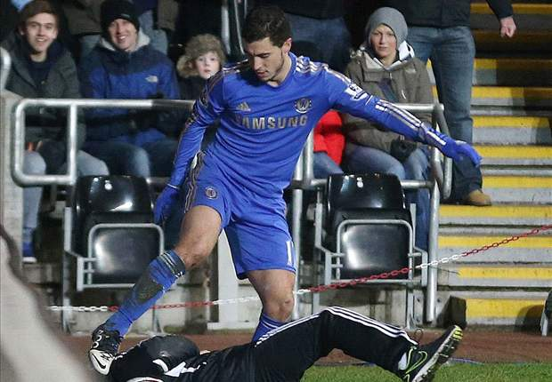 FA reviewing footage of Chelsea star Eden Hazard kicking ball boy