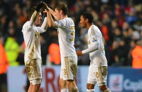Uefa: Swansea will use English flag