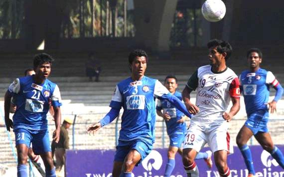Mohun Bagan held at home