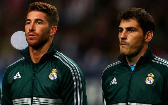 Sergio Ramos, Iker Casillas - Real Madrid