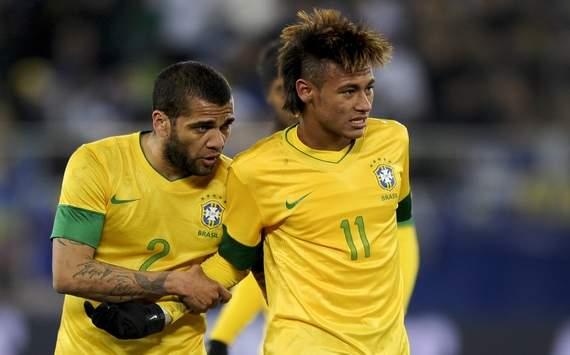 Dani Alves Neymar