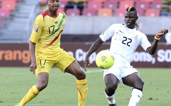 Mubarak Wakaso - Ghana v Mali Afcon 2013