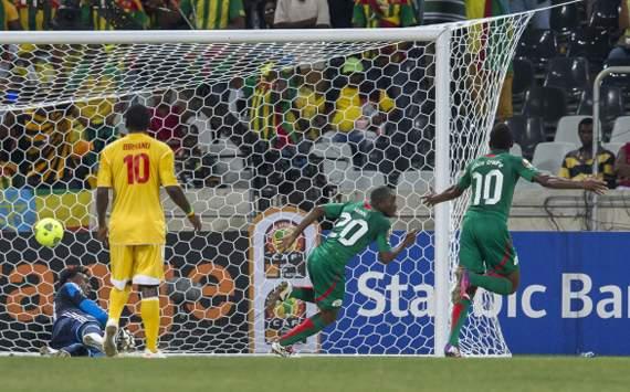 بوركينا فاسو المنقوص يكتسح أثويبيا