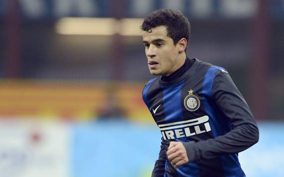 Liverpool complete 13.7 million Coutinho signing