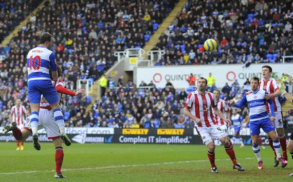 FA Cup: Noel Hunt, Reading v Sheffield United