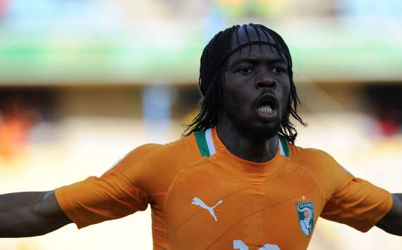 Gervinho - Cote d'Ivoire versusTunisia