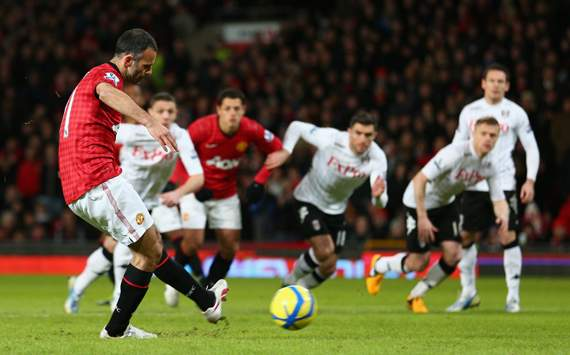 FA Cup - Manchester United v Fulham,  Ryan Giggs