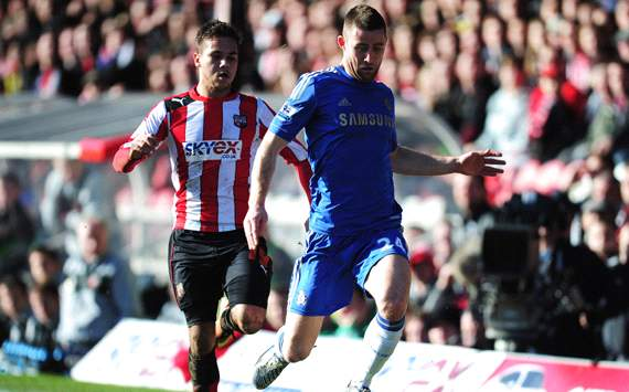 FA Cup: Gary Cahill -Harry Forrester, Brentford v Chelsea