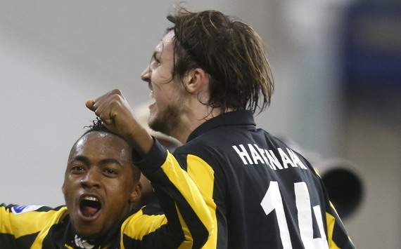 Vitesse - Ajax, Goal Vitesse Renato Ibarra &amp; Mike Havenaar