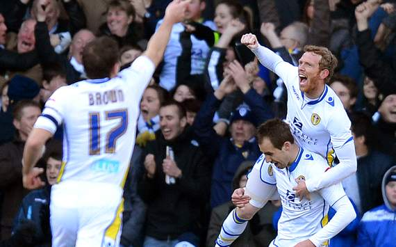 FA Cup: Luke Varney -  Paul Green - Michael Brown, Leeds United vsTottenham