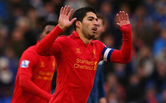 FA Cup, Oldham Athletic v Liverpool, Luis Suarez