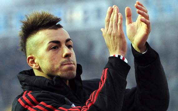 Milans El Shaarawy wnscht Inters Milito gute Besserung