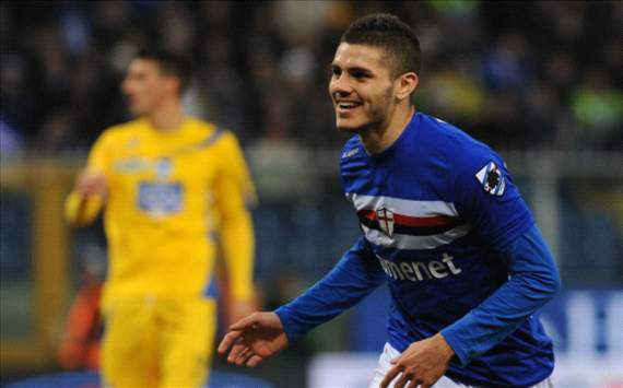 The Batistuta-like wonderkid who Barcelona let get away - Mauro Icardi has taken Serie A by storm in 2013