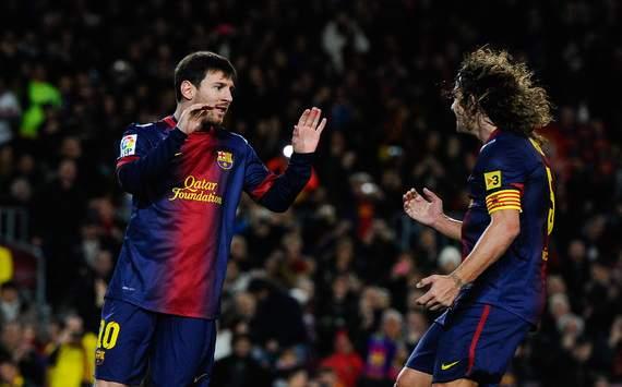 Lionel Messi, Carles Puyol - FC Barcelona
