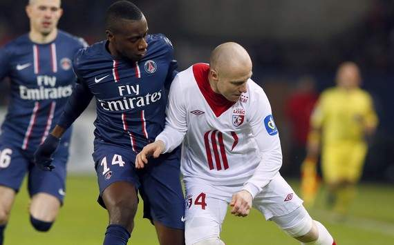 Ligue 1 : Blaise Matuidi vs Florent Balmont (Paris SG vs Lille OSC)