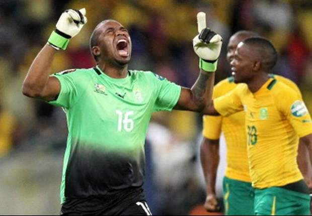 South Africa's Khune unhappy with performance against Morocco