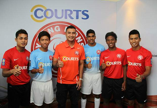 Courts Young Lions unveil 2013 S-League team