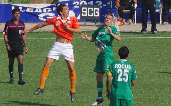 Angel Berlanga, John Wilkinson, Sporting Clube de Goa vs Salgaocar FC, I-League