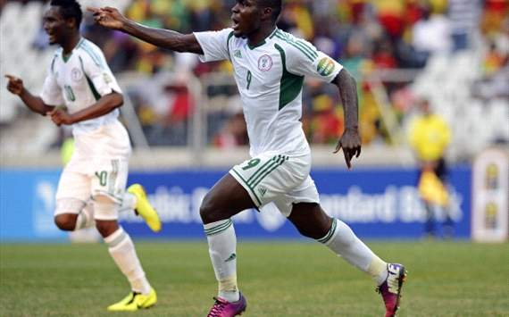 Nigeria's Emenike eyes Afcon golden boot