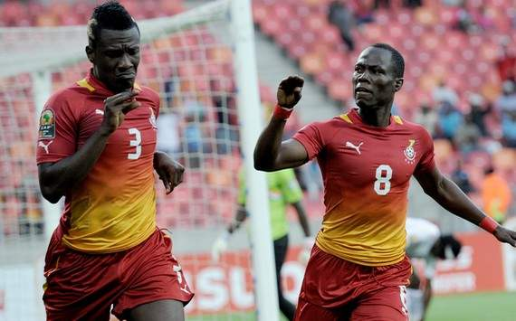 Afcon 2013 : Asamoah Gyan &amp; Emmanuel Badu (Niger vs Ghana)