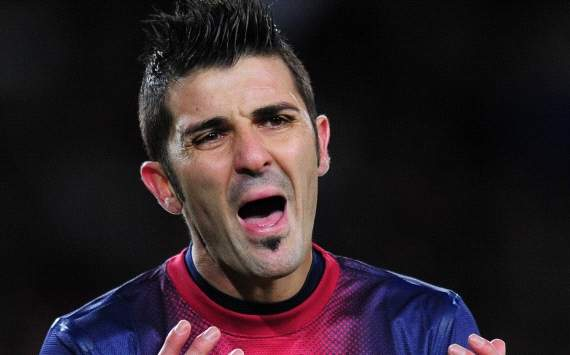 TEAM NEWS: David Villa starts for Barcelona versus Getafe