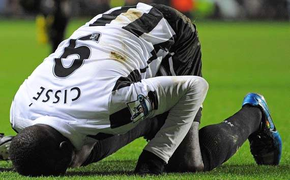 Newcastle can still beat Metalist, warns Cisse