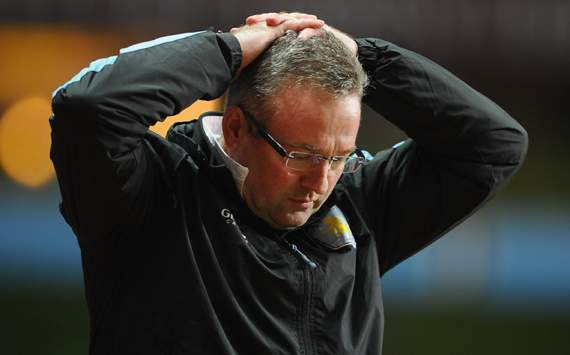 EPL - Aston Villa vs Newcastle, Paul Lambert