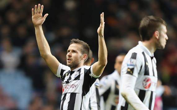 EPL, Aston Villa v Newcastle United, Yohan Cabaye