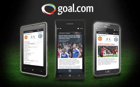 Download the new Goal.com app on Windows 8 now!
