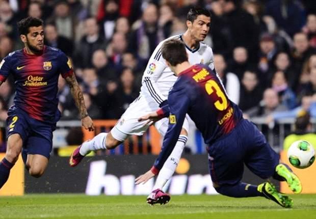 Pique: Ronaldo is a machine