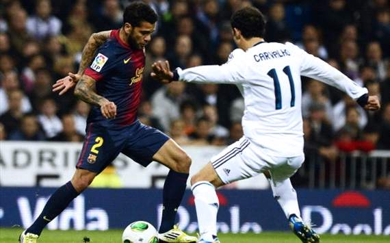 Dani Alves: I wouldn't sign anyone from Madrid