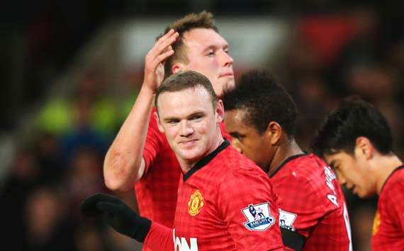 EPL, Manchester United v Southampton, Wayne Rooney 