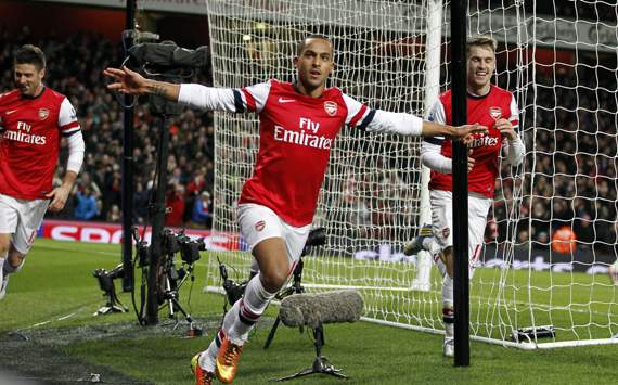 Walcott: My dream is to play up front for England