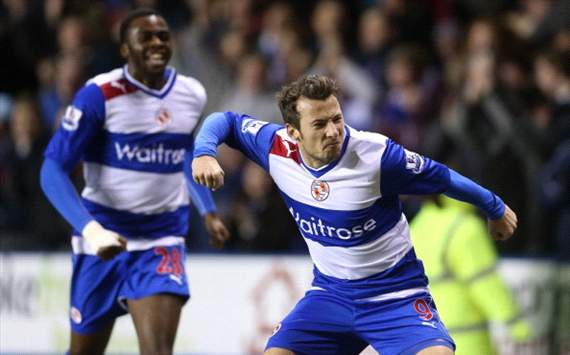 Hope Akpan and Adam Le Fondre celebrate versus Chelsea