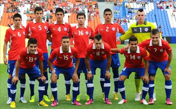 Chile ya tendría formación contra Egipto 251356hp2