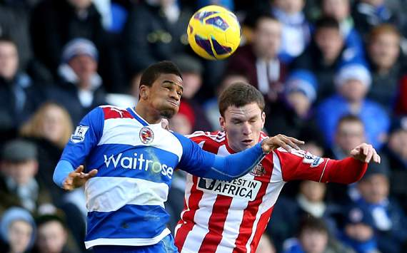 EPL - Reading v Sunderland, Craig Gardner &amp; Garath McCleary