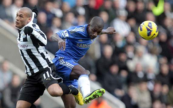 EPL: Yoan Gouffran  - Ramires, Newcastle United vs Chelsea