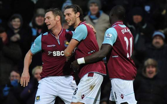 EPL - West Ham United v Swansea, Andy Carrol