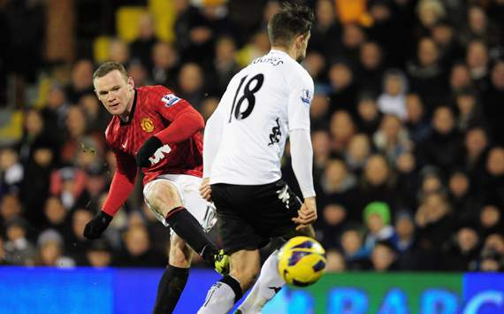 EPL - Fulham v Manchester United, Wayne Rooney