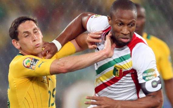 Afcon 2013 : Dean Furman vs Seydou Keita (South Africa vs Mali)