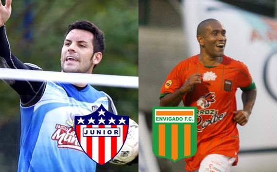 Júnior vs. Envigado