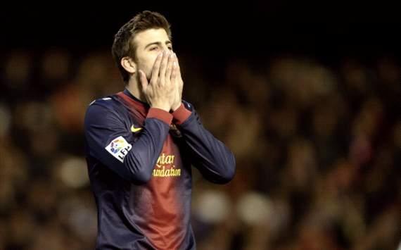 Pique: Barcelona in top physical condition