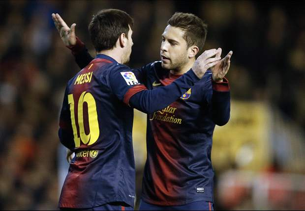 Both sides did enough to win, says Jordi Alba